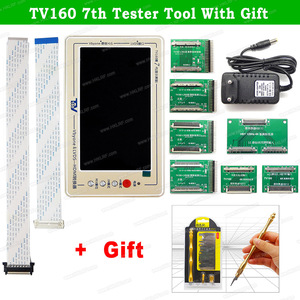 Image 2 - TV160 6th 7th Generation LVDS Turn VGA Converter With Display LCD/LED TV Motherboard Tester Mainboard Tool +  Multimeter/Scraper