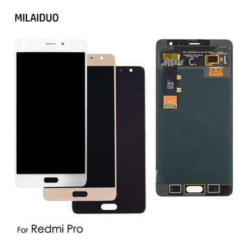 AMOLED For Xiaomi Redmi Pro LCD Display OLED Touch Screen Digitizer For Hongmi Pro Assembly Replacement Free shipping 5.5 inch