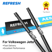 Car Wiper Blade For Volkswagen Jetta 6 24 19 Rubber Bracketless Windscreen Wiper Blades Car Accessories