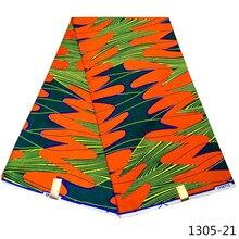 Ankara African Wax Print Fabric 6yard/lot 2019 African-wax-print java Wax Fabric High Quality African Wax Prints 1305-2 african wax fabric java wax 100