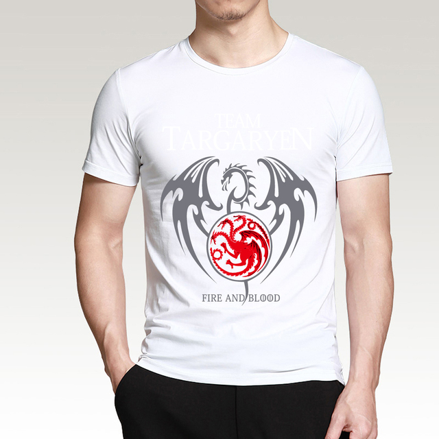 Game of Thrones Targaryen Fire & Blood Men T-Shirt