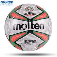 2019 расплавленный футбольный мяч для Азии, высокое качество, Профессиональный Размер, 4 размера, 5 мячей для футбольной лиги, спортивный трени...
