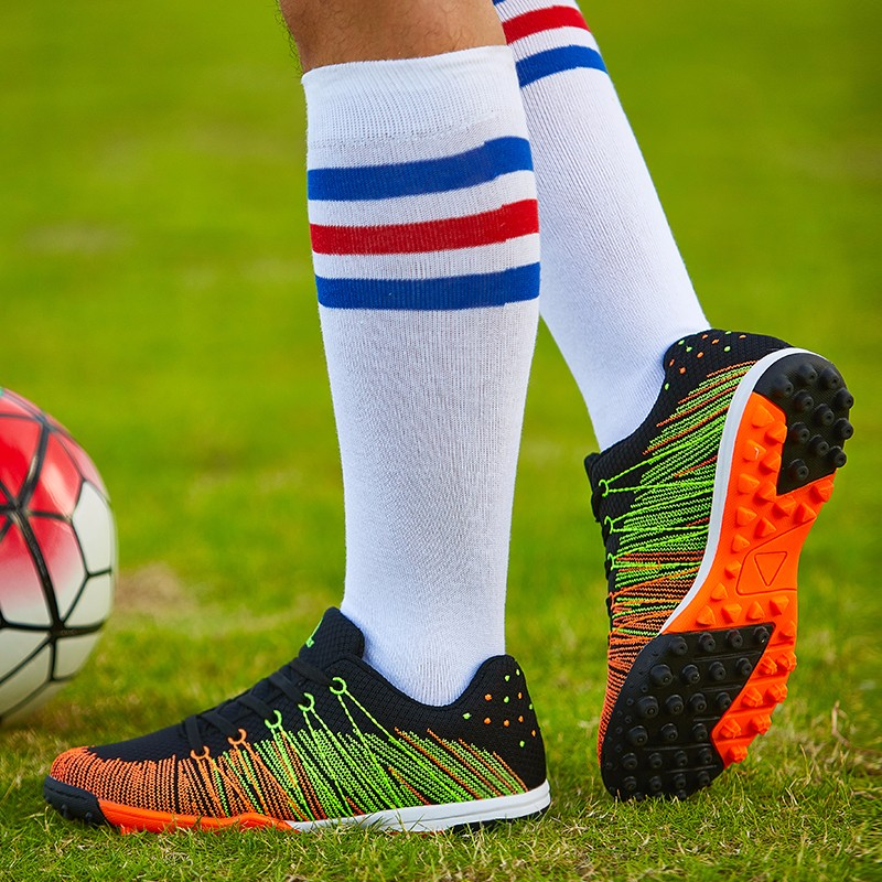 Mesh Soccer Shoes Football Boots Kids Boys Girl Flexible Flying Breathable New superfly botas de fuetbol Cleats voetbalschoenen  4