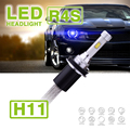1 Conjunto R4S H8 H9 H11 90 W 10400LM LED Farol DO CARRO 12/24 V Super Slim Kit Replace HID Condução luz de Nevoeiro Lâmpada 45 W 5200LM Xen halogênio