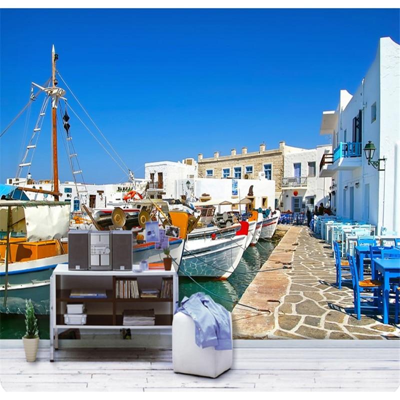 Benutzerdefinierte 3D fotowand papier Mediterrane landschaft großes ...