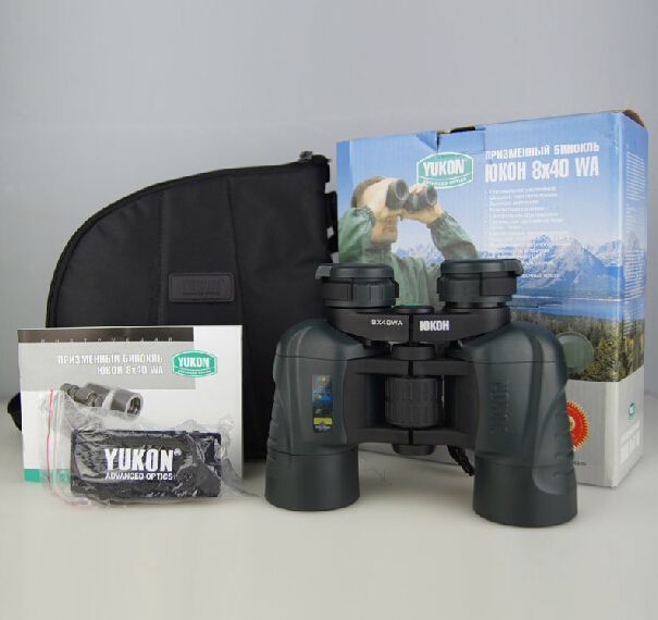 High image quality Yukon 22028 portable Binocular 8x40wa   prism binocular  Light weight  telescope yukon woodworth 7х50 wa бинокль