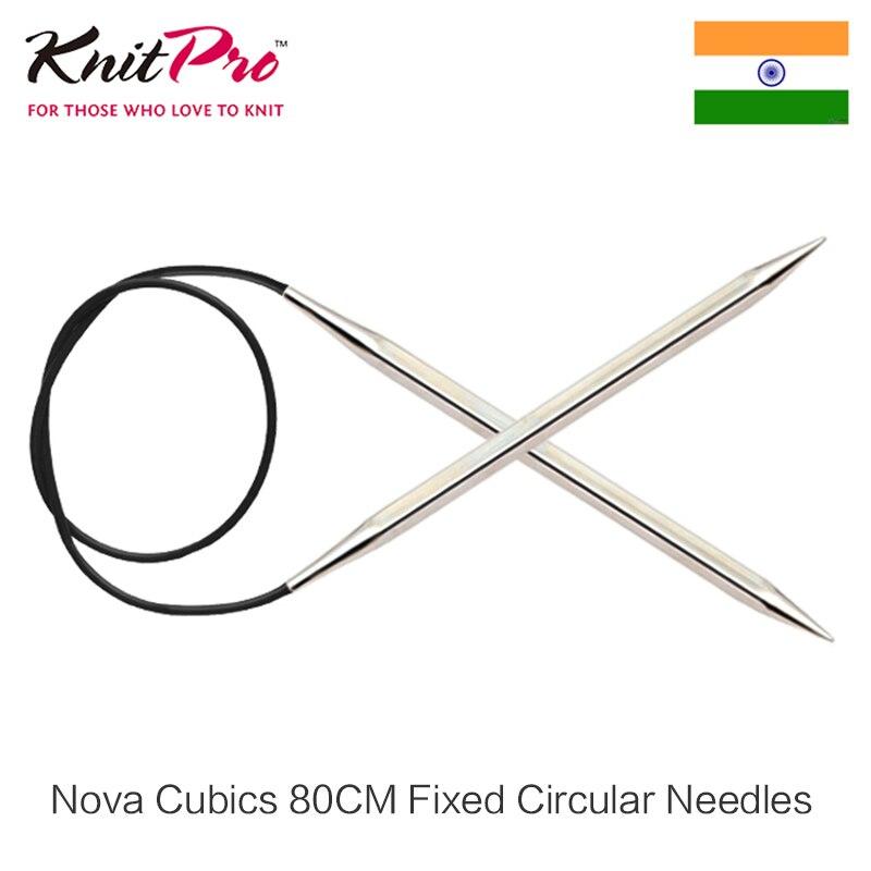 Nova Cubics 80 cm Fixo Circular Knitpro Agulha