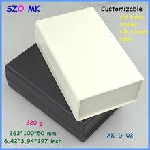 diy box distribution box outlet enclosure (1 pcs) 163*100*50mm plastic enclosure for pcb plastic project box electronic case