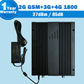 Great power amplifier 900 WCDMA 2100 4G LTE 1800 Tri Band Signal Booster 4G Cellular Repetidor 73dB Gain Cellphone Amplifier S11
