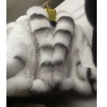 ZY87004-1 зимние женские шали из натурального меха норки с воротником из лисьего меха, накидки с рукавом «летучая мышь», свадебные накидки, верхняя одежда