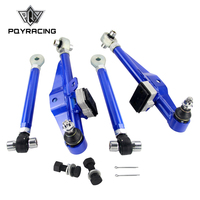 PQY S14 Adj. Front Lower Control Arm Blue Only (Pair) For Nissan PQY9832