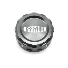 XSR700 Motorcycle CNC Aluminum Accessories Rear Brake Fluid Reservoir Cover Cap For Yamaha XSR 700 2014 2015 2016 2017 стоимость