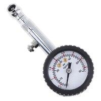 Verificador de ar 45*29*105mm do motocycle do caminhão da roda do calibre de pressão dos pneus do carro do seletor