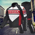 Red / Black Honda Racing Suits Motorcycle Riding Suits Men's Motorcycle Jacket Four Seasons Waterproof and Drop Free Shipping