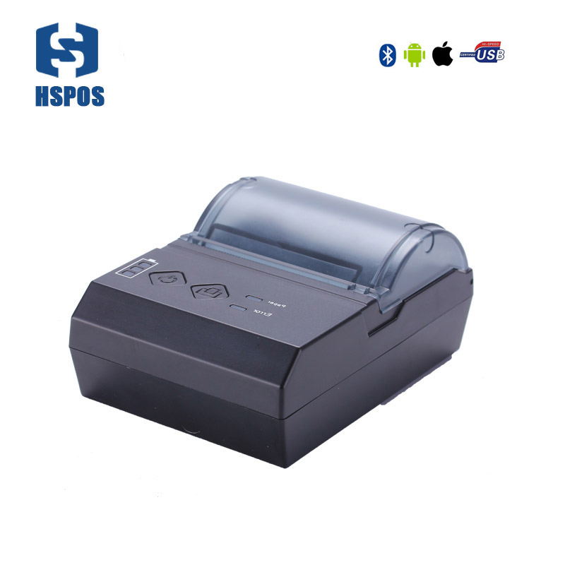 Pos 58mm bluetooth thermal mobile printer HS-E20UAI portable pocket receipt printer Support android and IOS appy to pos systems portable bluetooth thermal printer mini 58mm bluetooth android and ios pos printer mobile usb receipt printer