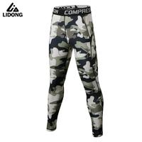 New Camo Kids Compression Pants Boys Running Fitness Pants Skins Compression Tights Football Training Leggings Trousers