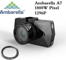 Best камеры Ambarella A7 la70 Видеорегистраторы для автомобилей Видео Регистраторы Full HD 1296 P GPS Logger Ночное видение поляризационный фильтр CPL Поддержка 64 г