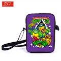 Crianças Mini saco do mensageiro Anime Teenage Mutant Ninja Turtles cruz Bag meninos Girls School bolsas mochilas melhor presente diário sacos