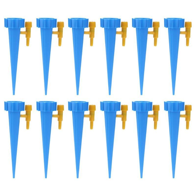 18 шт. автоматический полив для полива, заводы для помещений, бытовой автоматический капельный полив, система полива, автоматический полив, Спайк - Цвет: 18PCS Blue
