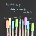 0.8mm 6 colors Ink Color Photo Album Gel Pen Stationery Office Learning Cute Pen Unisex Pen Wedding Pen Gift for Kids