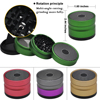 New Fashion Dia 63mm H 47mm 4 Layers Tobacco Grinder Ancient Shape Herb Grinder Aluminum Spice