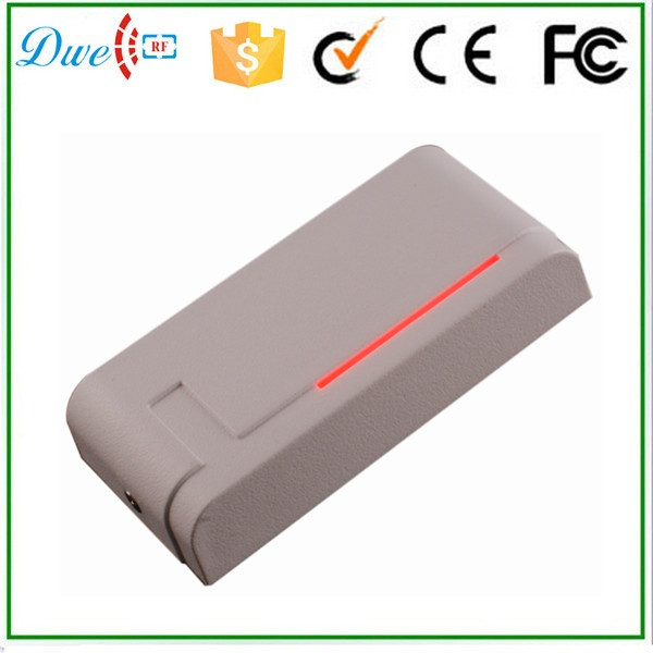 DWE CC RF Free shipping low cost rfid access control card reader waterproof outdoor wiegand 26 13.56mhz freqeuncy dwe cc rf 13 56 mhz outdoor rfid card reader for access control system wiegand 26 free shipping