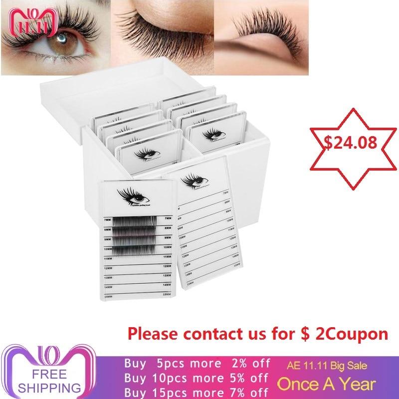 10 Layers Clear Eyelash Storage Box Makeup Organizer False Eyelashes Glue Pallet Holder Grafting Eyelashes Extension Makeup Tool