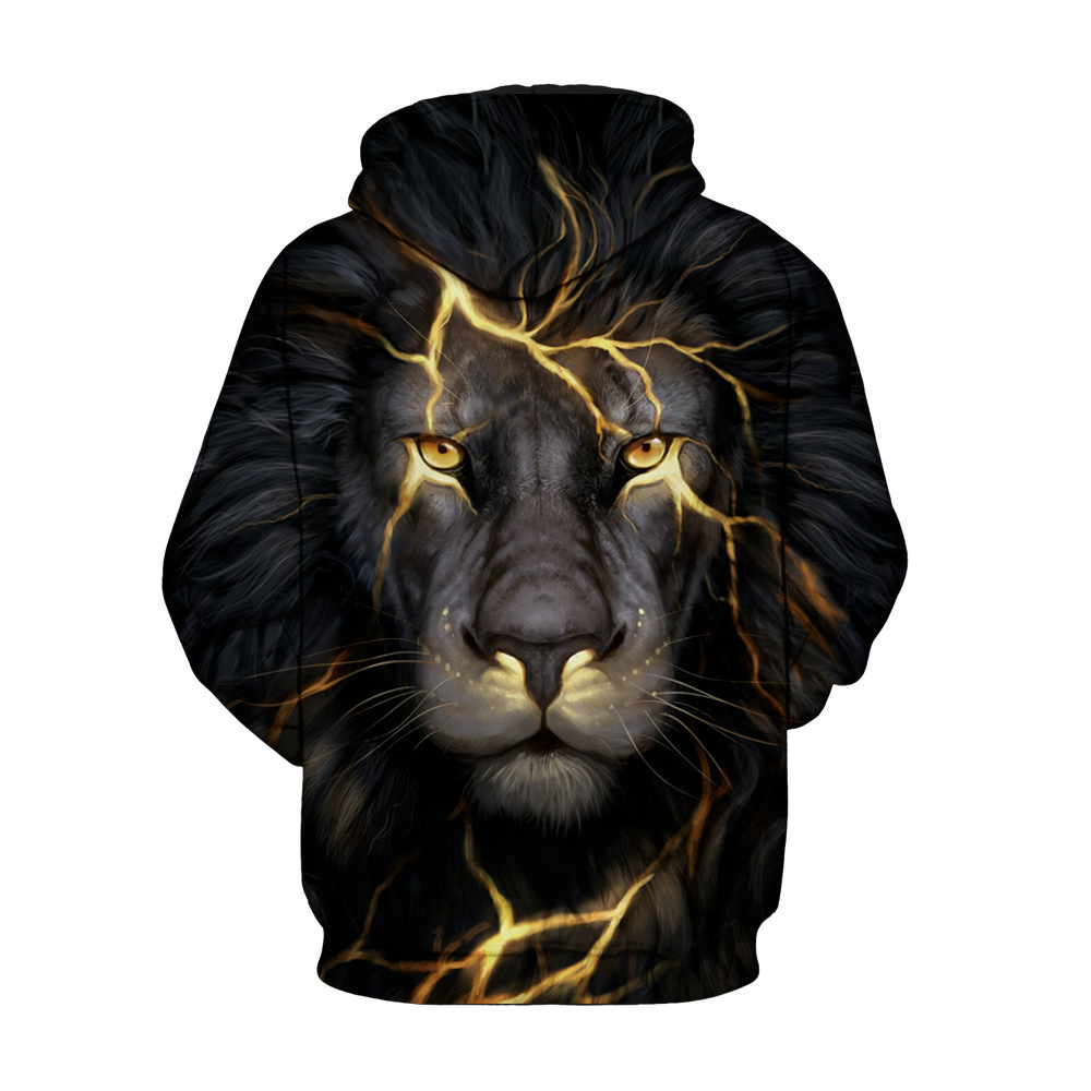 New Sale Animal Style 3d Sweatshirts Men Women Pullovers Gold Lion Hoodies  Jellyfish 3d Sunglasses Cat Pullovers XXXL Men Hoodie-in Hoodies    Sweatshirts ... d541055cc0