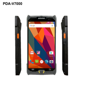 Image 2 - V7000 4G/3G/2G Palmare PDA Android 6.0 Terminale POS Touch Screen 1D/2D lettore Senza Fili Wifi GPS Bluetooth Scanner di Codici A Barre