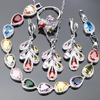 Bridal Zircon Stone Jewelry Sets For Women