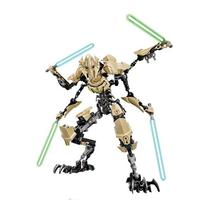цена на KSZ 714 Star Blocks Constraction General Grevious Wars Figures Model Compatible with 75112 Building Blocks kits