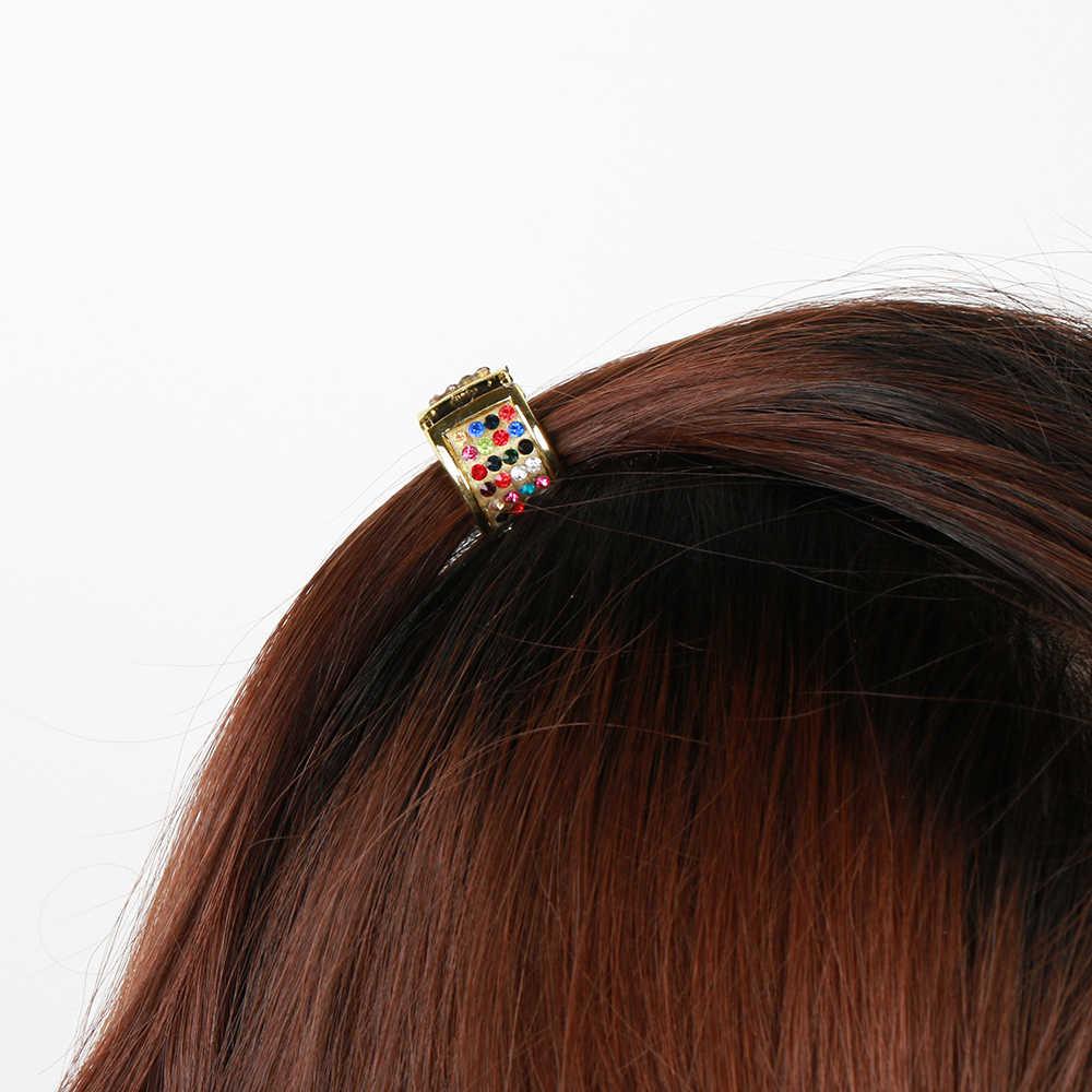 Модный конский Хвостик Держатель открывающийся свет пластик волос кольцо Hairband для женщин аксессуары для волос оголовье резинки волос