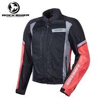 ROCK BIKER Motorcycle Racing Jacket Spring Summer Men Women Motocross riding Jacket Safety chaqueta moto Racing Clothes