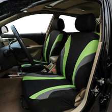 Hot sale Universal Car Seat Cover Set 4Pcs Seat Covers Front Seat Back Seat Headrest Cover Mesh Black and Gray 5 Styles Optional import seat qfp100 burner seat zy510b adapter zlg x5 x8 5000u programming seat