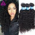 4 Связки лот Перуанский Kinky Вьющиеся Девы Волос Bundle Предложения 8а Перуанский Вьющиеся Волосы Девственницы 100% Необработанные Человеческих Волос