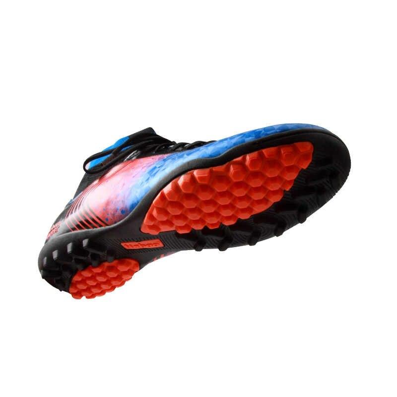TIEBAO A77022B New Football Socks Giày Màu Xanh Huỳnh Quang Xanh Orange Football Boots Ngoài Trời TF Soccer Shoes Turf Soccer Boots