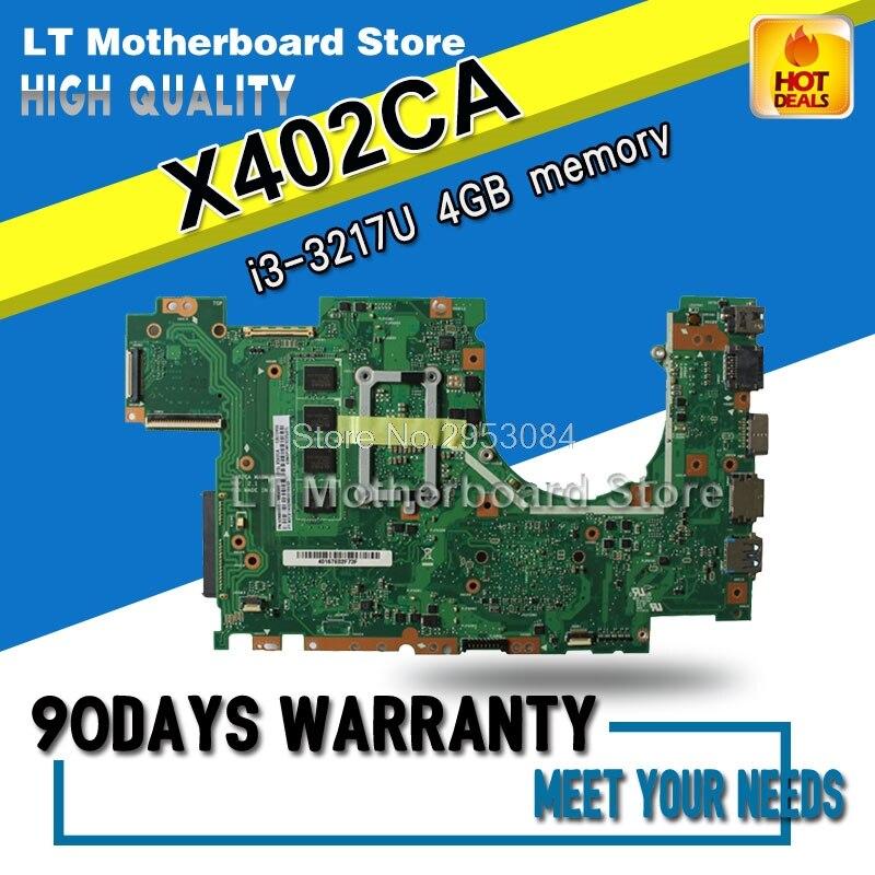 Здесь продается  For Asus Motherboard F402C F402CA X402C X402CA F502C F502CA X502C X502CA X402CA  4G-i3-3217U Mainboard Fully Test S-4  Компьютер & сеть