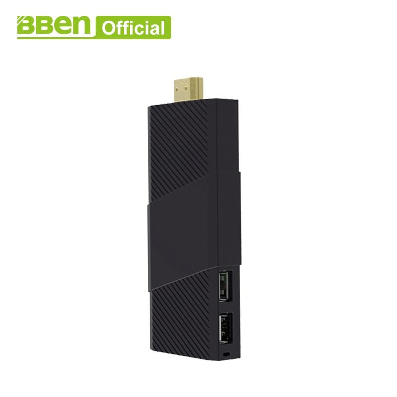 купить Original BBen Mini MN9 PC Intel Z8350 Quad-Core DDR3L 4GB/64GB RAM/ROM Windows10 Computer Mini Stick for office Home по цене 8719.04 рублей