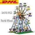 2017 New LEPIN 15012 2478Pcs City Creator Series Expert Ferris Wheel Model Building Kits Blocks Bricks Compatible Toy Gift 10247