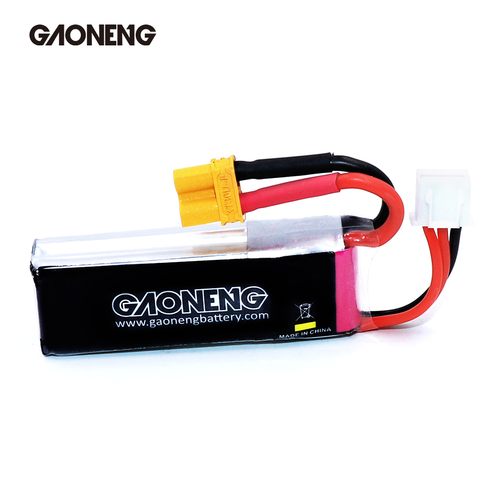 Image 5 - 2PCS Gaoneng GNB 300mah 7.6V 80C/160C HV Lipo battery with XT30 Plug for BETAFPV Beta75X 2S Beta65X 2S Whoop DronesParts & Accessories   -