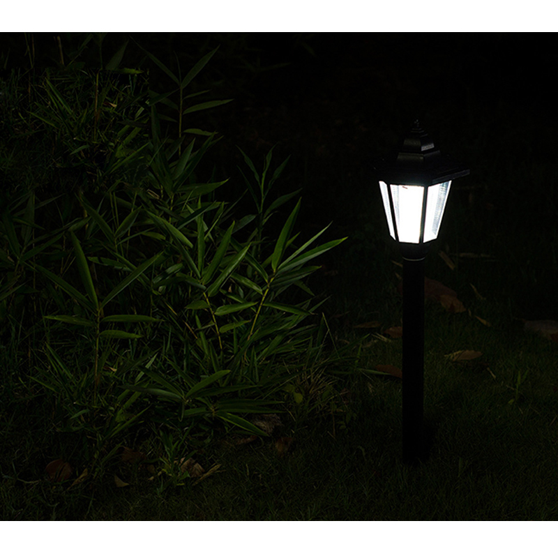Us 13 29 38 Off Auto Led Solar Landscape Lamp Outdoor Garden Path Cited Light Post Lawn For Home Lighting 1pcs In