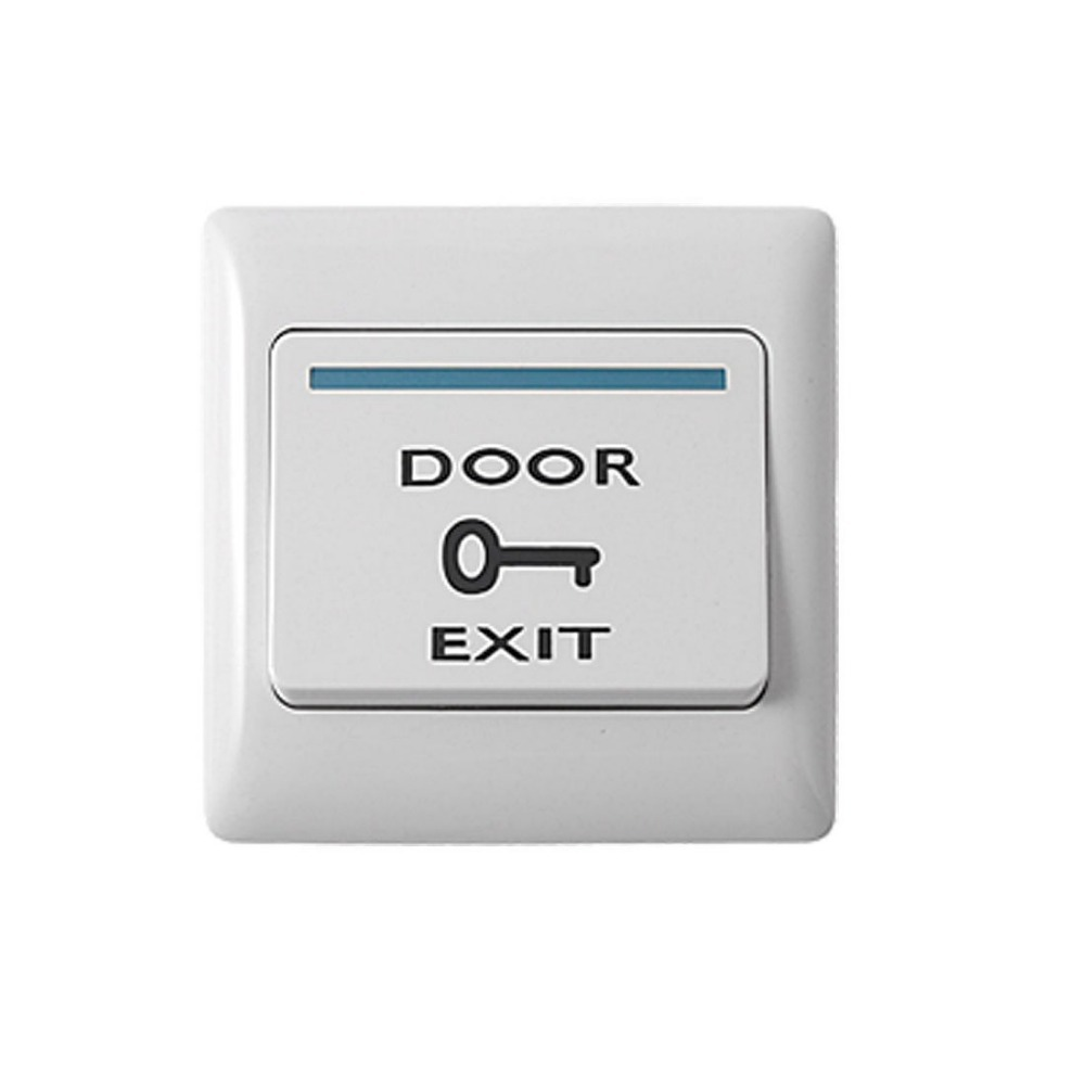 Free Shipping,exit button for Access control ,plastic, door release ,Dim: 86Lx86Wx20H(mm) 10pcs/lot,, Wholesale 1 lot ...