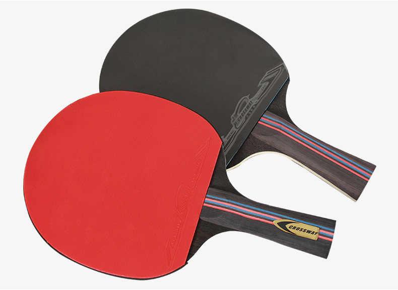 Crossway 1100 Table Tennis Paddle 2 pcs/set Ping Pong Paddle Racket And Pingpong Ball Set
