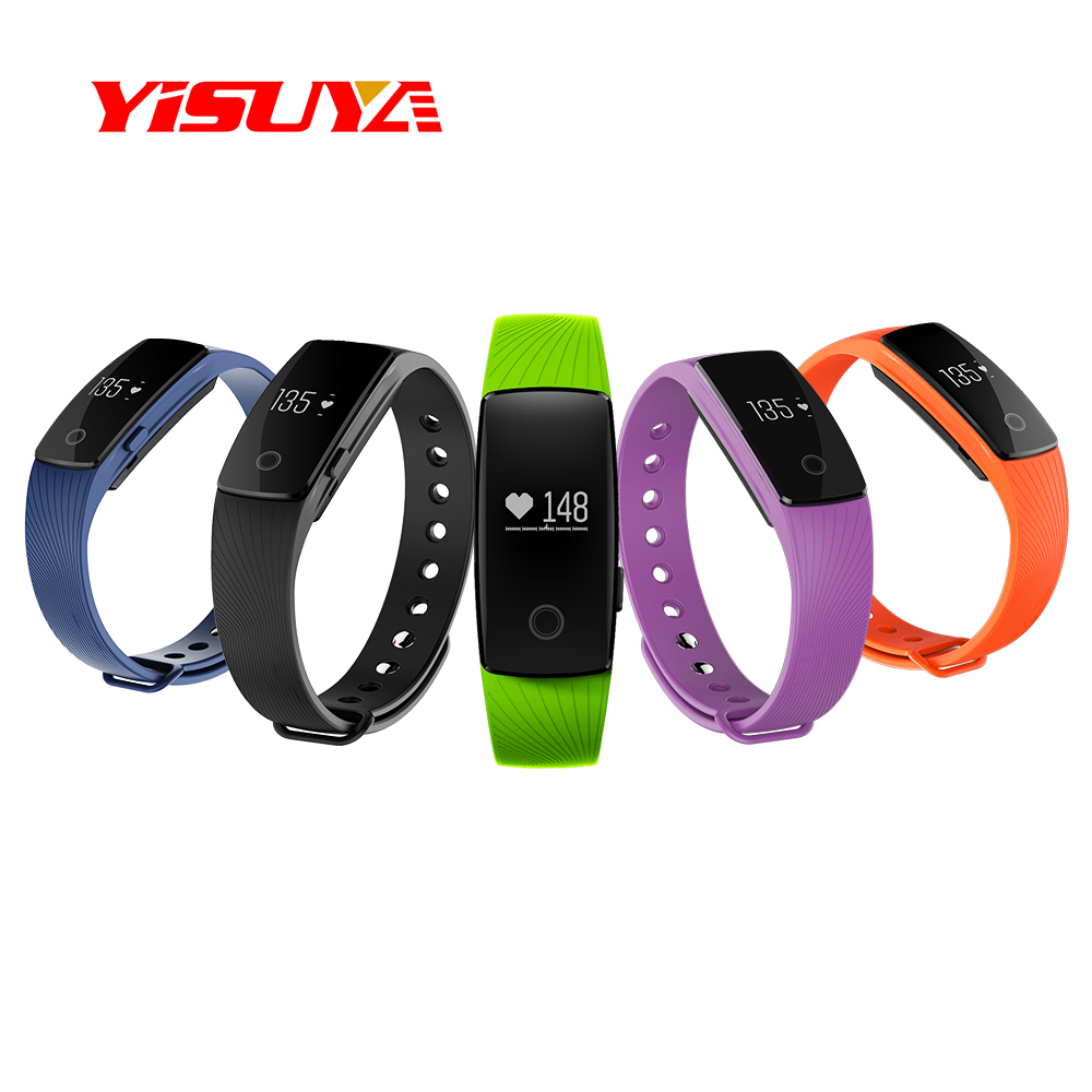 Smart Watch K107 Heart Rate Monitor Smart Writband OLED Screen Pedometer Sport Fitness Tracker Watch Bracelets For Smartphone pedometer heart rate monitor calories counter led digital sports watch fitness for men women outdoor military wristwatches