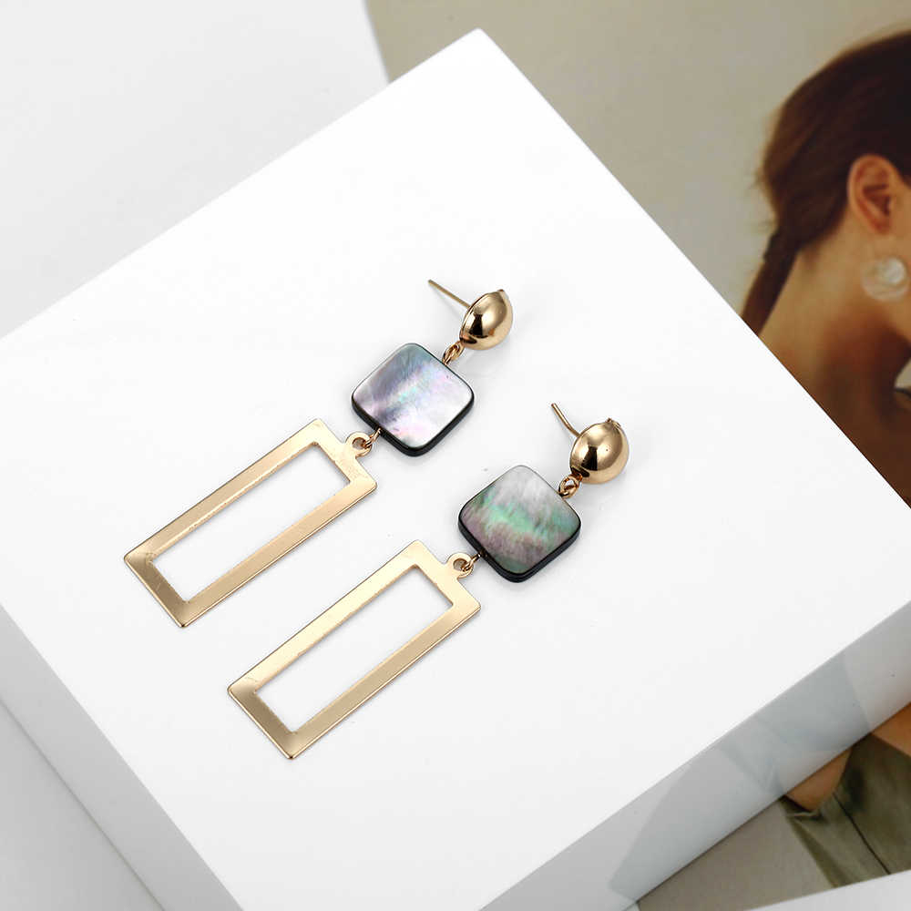 Jewelry Set 2019 for Woman Minimalist Metal Necklace Earrings suit Moon Stars Multilevel NE+EA Gift for Party
