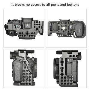 Image 5 - Комплект клетки SmallRig a7r3 для камеры sony a7m3 для камеры Sony A7R III/A7 III, клетка с верхней ручкой и шаровой головкой 2103