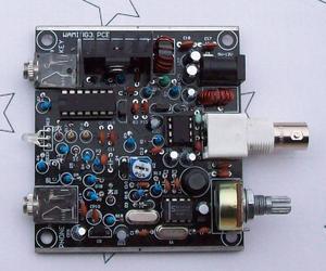 V3 grenouille sons jambon Radio QRP télégraphe CW émetteur-récepteur télégraphe machine à ondes courtes Radio Station 7.023KHz bricolage KITS