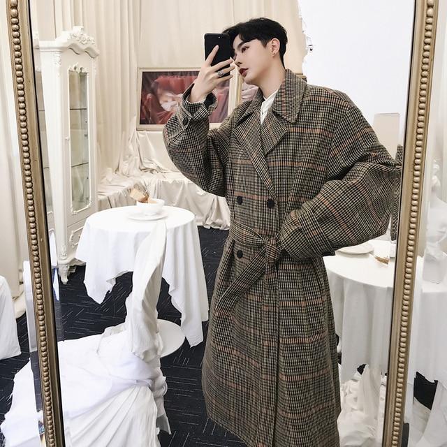 Winter Men's Cashmere Long...