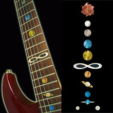 Fretboard Markers Inlay Sticker Decals for Guitar & Bass – Planet