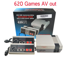 TV HDMI in AV za Nes ročno igralsko konzolo Igre konzole za video igre s 500/600 različnimi vgrajenimi igrami
